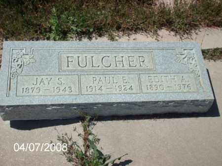 FULCHER, PAUL E. - Gila County, Arizona | PAUL E. FULCHER - Arizona Gravestone Photos