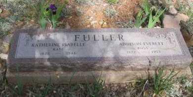 FULLER, KATHERINE ISABELLE - Gila County, Arizona   KATHERINE ISABELLE FULLER - Arizona Gravestone Photos