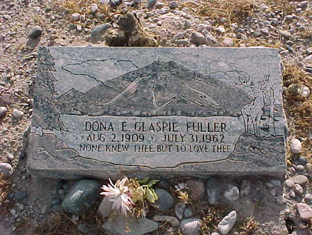 GLASPIE FULLER, DONA  E. - Gila County, Arizona | DONA  E. GLASPIE FULLER - Arizona Gravestone Photos