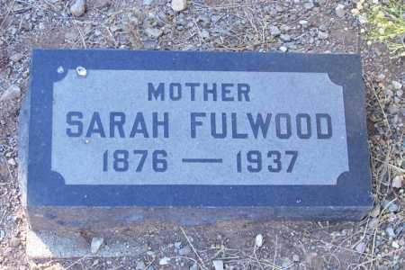 DAVIS FULWOOD, SARAH JANE - Gila County, Arizona | SARAH JANE DAVIS FULWOOD - Arizona Gravestone Photos