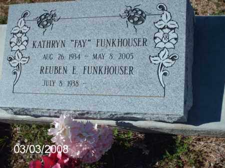 FUNKHOUSER, KATHRYN - Gila County, Arizona | KATHRYN FUNKHOUSER - Arizona Gravestone Photos