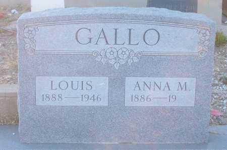 GALLO, ANNA M. - Gila County, Arizona | ANNA M. GALLO - Arizona Gravestone Photos