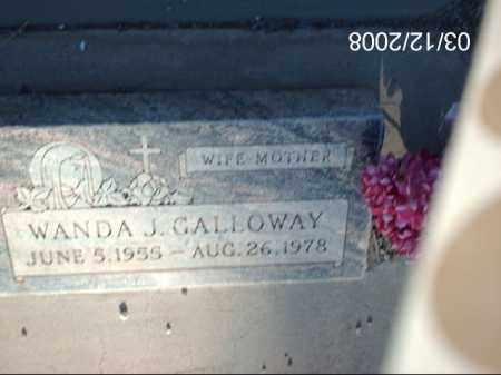 GALLOWAY, WANDA - Gila County, Arizona | WANDA GALLOWAY - Arizona Gravestone Photos