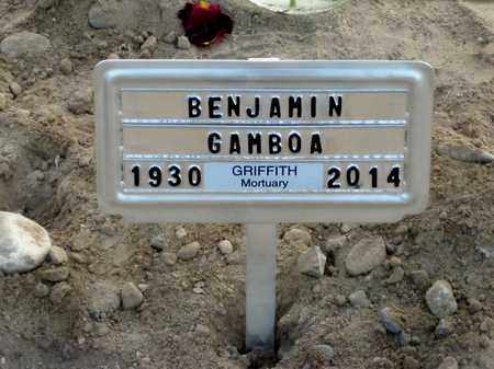 GAMBOA, BENJAMIN, JR. - Gila County, Arizona | BENJAMIN, JR. GAMBOA - Arizona Gravestone Photos