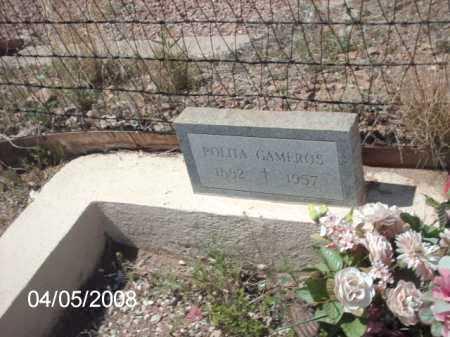 GAMEROS, POLITA - Gila County, Arizona | POLITA GAMEROS - Arizona Gravestone Photos