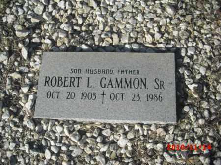 GAMMON, ROBERT L., SR. - Gila County, Arizona   ROBERT L., SR. GAMMON - Arizona Gravestone Photos
