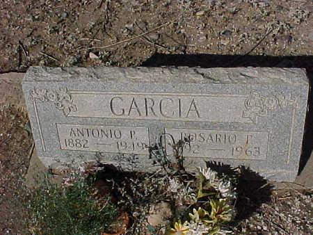 GARCIA, ANTONIO  P. - Gila County, Arizona | ANTONIO  P. GARCIA - Arizona Gravestone Photos