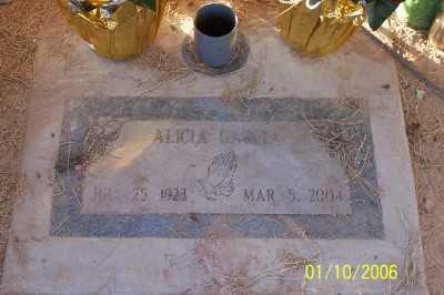 GARCIA, ALICIA - Gila County, Arizona | ALICIA GARCIA - Arizona Gravestone Photos