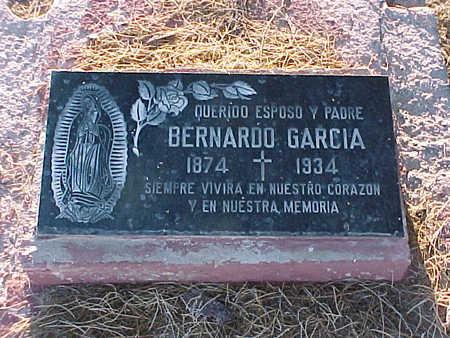 GARCIA, BERNARDO - Gila County, Arizona | BERNARDO GARCIA - Arizona Gravestone Photos