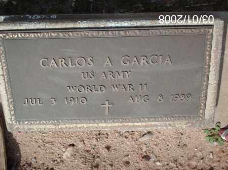 GARCIA, CARLOS - Gila County, Arizona   CARLOS GARCIA - Arizona Gravestone Photos