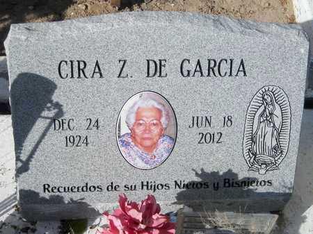 ZAMBRANO GARCIA, CIRA - Gila County, Arizona | CIRA ZAMBRANO GARCIA - Arizona Gravestone Photos