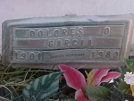 GARCIA, DOLORES  O. - Gila County, Arizona | DOLORES  O. GARCIA - Arizona Gravestone Photos