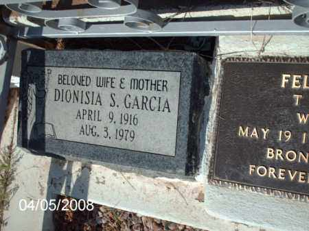 GARCIA, DIONISIA S. - Gila County, Arizona | DIONISIA S. GARCIA - Arizona Gravestone Photos