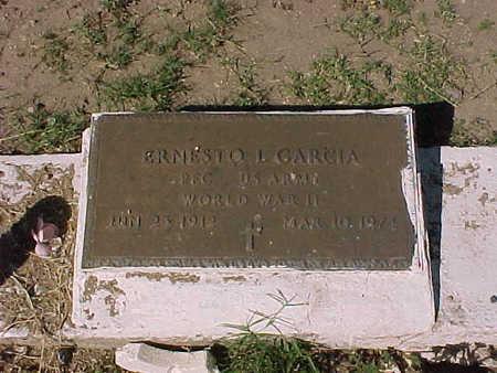 GARCIA, ERNESTO  L. - Gila County, Arizona   ERNESTO  L. GARCIA - Arizona Gravestone Photos