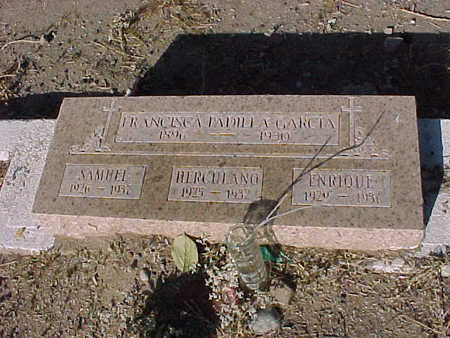GARCIA, HERCULANO - Gila County, Arizona | HERCULANO GARCIA - Arizona Gravestone Photos