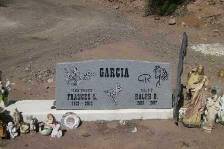 GARCIA, FRANCES - Gila County, Arizona | FRANCES GARCIA - Arizona Gravestone Photos