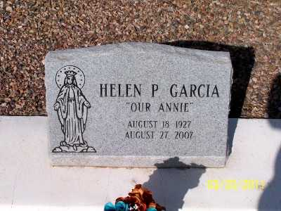 "GARCIA, HELEN ""ANNIE""  P. - Gila County, Arizona | HELEN ""ANNIE""  P. GARCIA - Arizona Gravestone Photos"