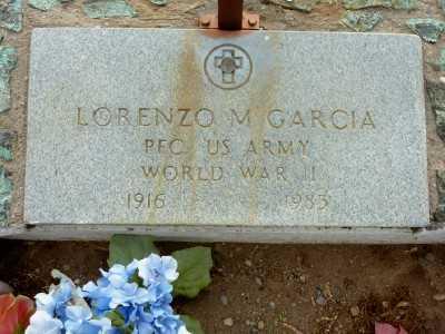 GARCIA, LORENZO M. - Gila County, Arizona | LORENZO M. GARCIA - Arizona Gravestone Photos