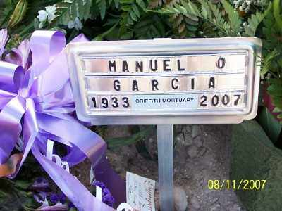 GARCIA, MANUEL O. - Gila County, Arizona   MANUEL O. GARCIA - Arizona Gravestone Photos
