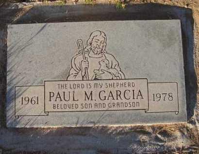 GARCIA, PAUL - Gila County, Arizona | PAUL GARCIA - Arizona Gravestone Photos