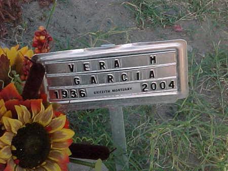 GARCIA, VERA  M. - Gila County, Arizona | VERA  M. GARCIA - Arizona Gravestone Photos