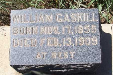 GASKILL, WILLIAM - Gila County, Arizona   WILLIAM GASKILL - Arizona Gravestone Photos