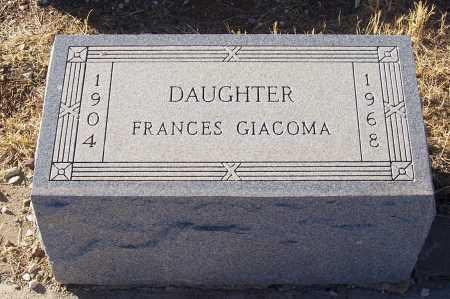 GIACOMA, FRANCES - Gila County, Arizona | FRANCES GIACOMA - Arizona Gravestone Photos