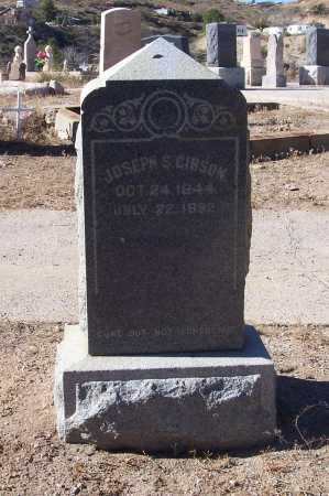 GIBSON, JOSEPH S. - Gila County, Arizona | JOSEPH S. GIBSON - Arizona Gravestone Photos