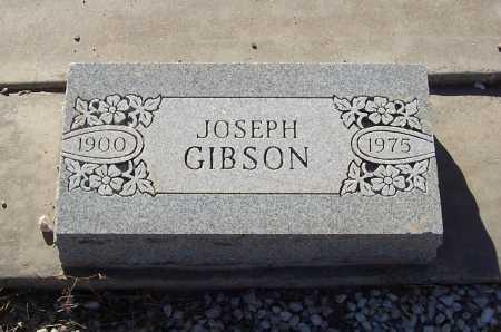 GIBSON, JOSEPH - Gila County, Arizona   JOSEPH GIBSON - Arizona Gravestone Photos