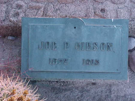 GIBSON, JOE  P. - Gila County, Arizona | JOE  P. GIBSON - Arizona Gravestone Photos