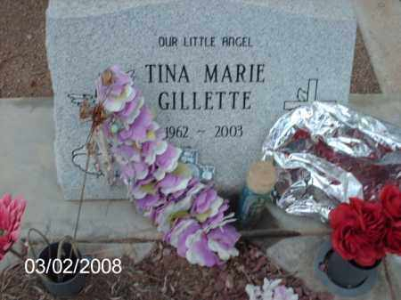 GILLETTE, TINNA - Gila County, Arizona | TINNA GILLETTE - Arizona Gravestone Photos
