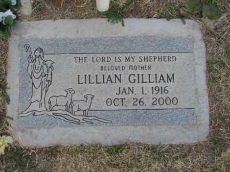 GILLIAM, LILLIAN - Gila County, Arizona | LILLIAN GILLIAM - Arizona Gravestone Photos