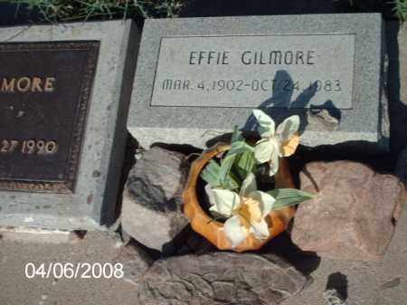 GILMORE, EFFIE - Gila County, Arizona | EFFIE GILMORE - Arizona Gravestone Photos