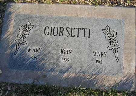 GIORSETTI, JOHN - Gila County, Arizona   JOHN GIORSETTI - Arizona Gravestone Photos