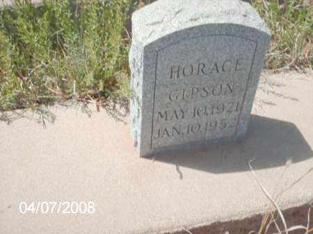GIPSON, HORACE - Gila County, Arizona | HORACE GIPSON - Arizona Gravestone Photos