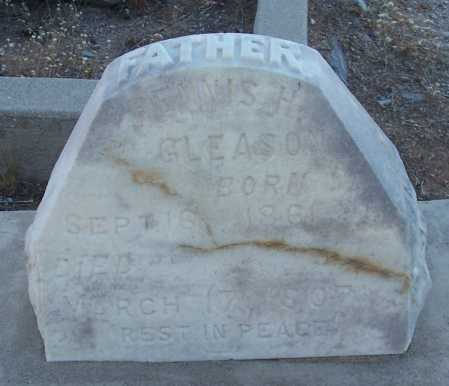 GLEASON, DENNIS H. - Gila County, Arizona | DENNIS H. GLEASON - Arizona Gravestone Photos