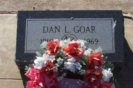 GOAR, DAN L. - Gila County, Arizona | DAN L. GOAR - Arizona Gravestone Photos