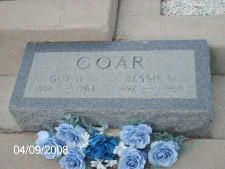 GOAR, BESSIE M. - Gila County, Arizona | BESSIE M. GOAR - Arizona Gravestone Photos