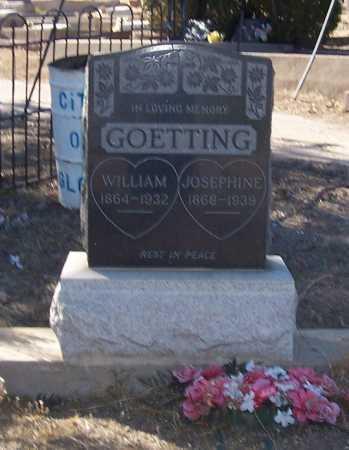 WITH GOETTING, JOSEPHINE - Gila County, Arizona | JOSEPHINE WITH GOETTING - Arizona Gravestone Photos