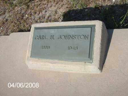 GOHNSTON, CARL H. - Gila County, Arizona   CARL H. GOHNSTON - Arizona Gravestone Photos