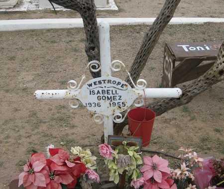 GOMEZ, ISABEL - Gila County, Arizona | ISABEL GOMEZ - Arizona Gravestone Photos