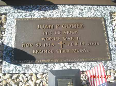 GOMEZ, JUAN P. - Gila County, Arizona | JUAN P. GOMEZ - Arizona Gravestone Photos
