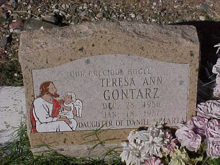 GONTARZ, TERESA ANN - Gila County, Arizona | TERESA ANN GONTARZ - Arizona Gravestone Photos