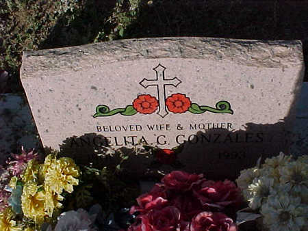 GARCIA GONZALES, ANGELITA - Gila County, Arizona   ANGELITA GARCIA GONZALES - Arizona Gravestone Photos