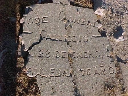GONZALES, JOSE - Gila County, Arizona | JOSE GONZALES - Arizona Gravestone Photos