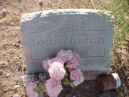 GONZALES, LAWRENCE - Gila County, Arizona | LAWRENCE GONZALES - Arizona Gravestone Photos