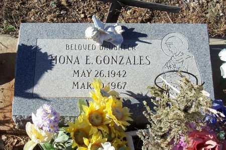 GONZALES, MONA E. - Gila County, Arizona | MONA E. GONZALES - Arizona Gravestone Photos