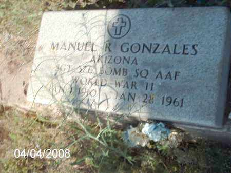 GONZALES, MANUEL - Gila County, Arizona | MANUEL GONZALES - Arizona Gravestone Photos