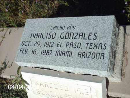 GONZALES, MARCISO - Gila County, Arizona | MARCISO GONZALES - Arizona Gravestone Photos