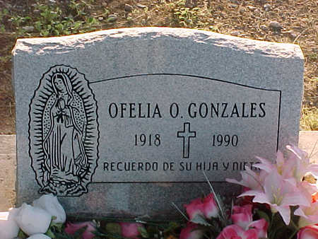 GONZALES, OFELIA  O. - Gila County, Arizona | OFELIA  O. GONZALES - Arizona Gravestone Photos